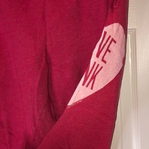 PINK Victoria's Secret Pants - VS PINK Jogger Sweats Large
